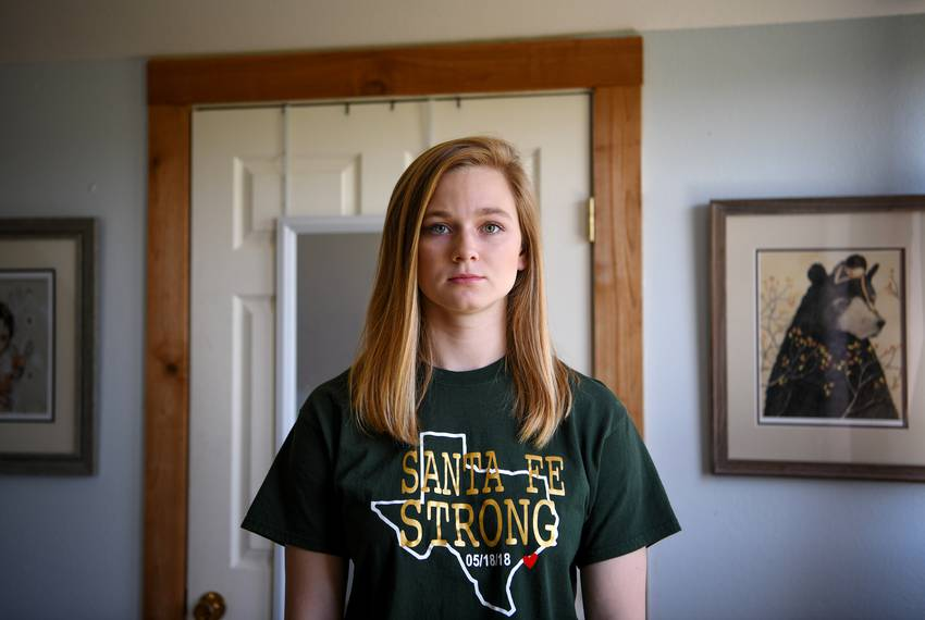 Annabelle O\u0027Day was a senior at Santa Fe High School when a mass shooter 2018 killed 10 people last year.