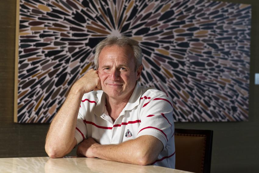 Exonerated after spending 25 years in prison for a crime he didn't commit, Michael Morton poses for a photograph in Austin o…