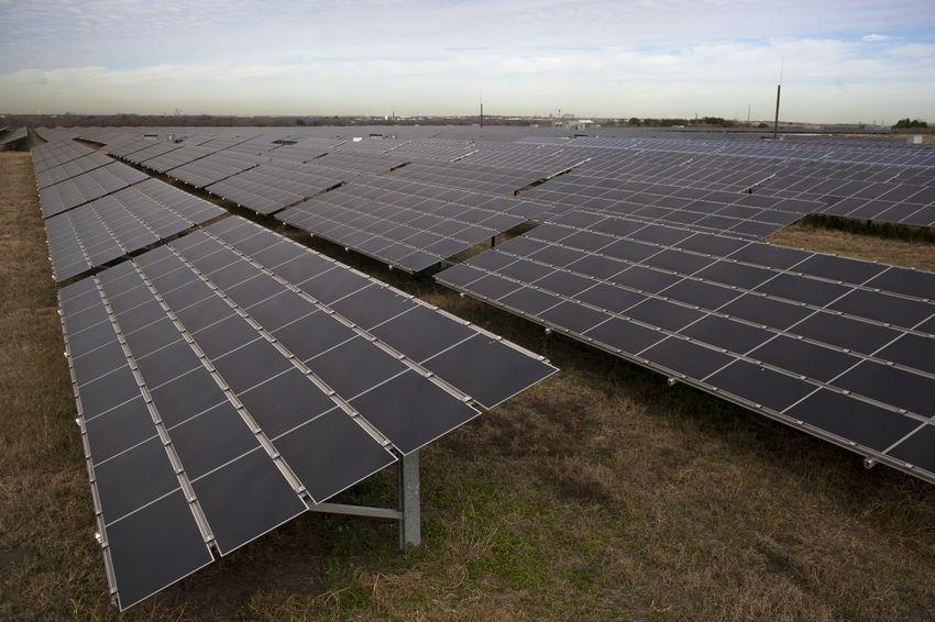 CPS Energy's Blue Wing Solar Farm in San Antonio is the largest solar array in Texas and is capable of producing enough electricity to power 1,800 households.