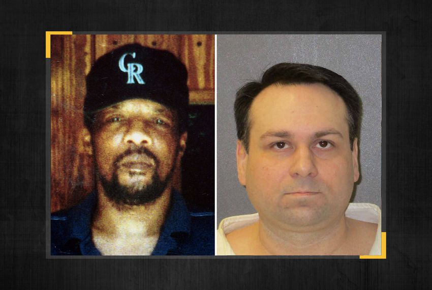 James Byrd Jr. (left) and John William King.