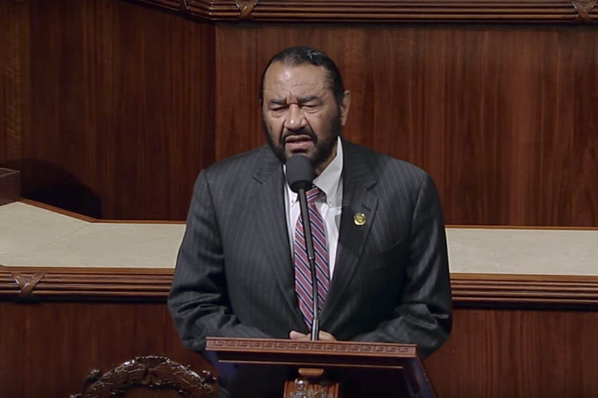 U.S. Rep. Al Green, D-Houston, speaking in favor of impeachment of President Trump from the floor of Congress on May 17, 2017.