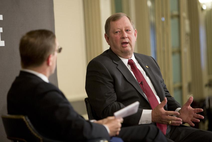 Rep. John Otto R-Dayton, chairman of the House Appropriations Committee, during Tribune Conversation event on February 12t...
