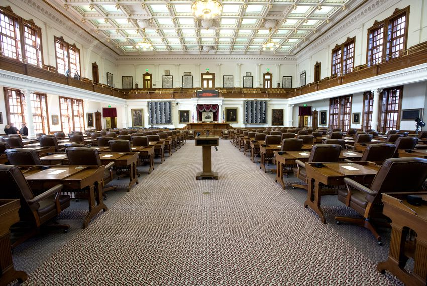 The Texas House of Representatives.