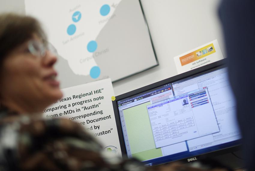 The Health Information Exchange Laboratory at The University of Texas at Austin simulates the workflow of new health informa…
