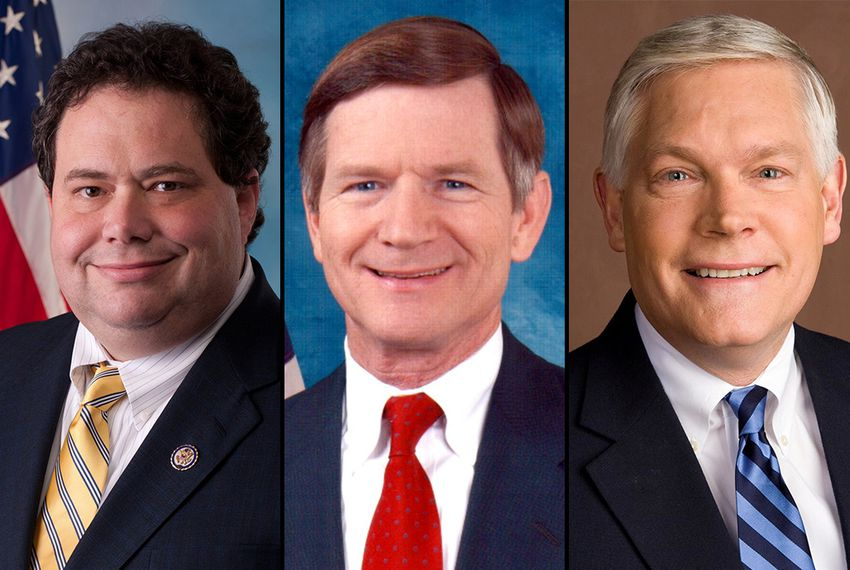 Reps. Blake Farenthold, Lamar Smith and Pete Sessions
