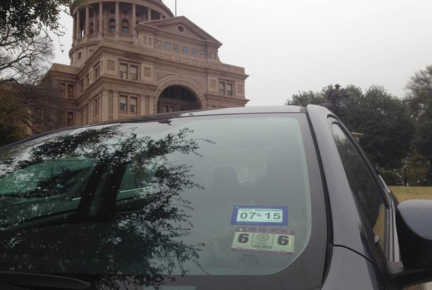 Inspection stickers will begin disappearing from Texas vehicles when the state rolls out a new single-sticker program for ...