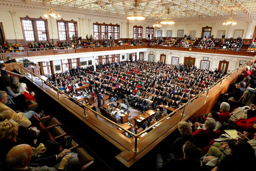 Texas House of Representatives.