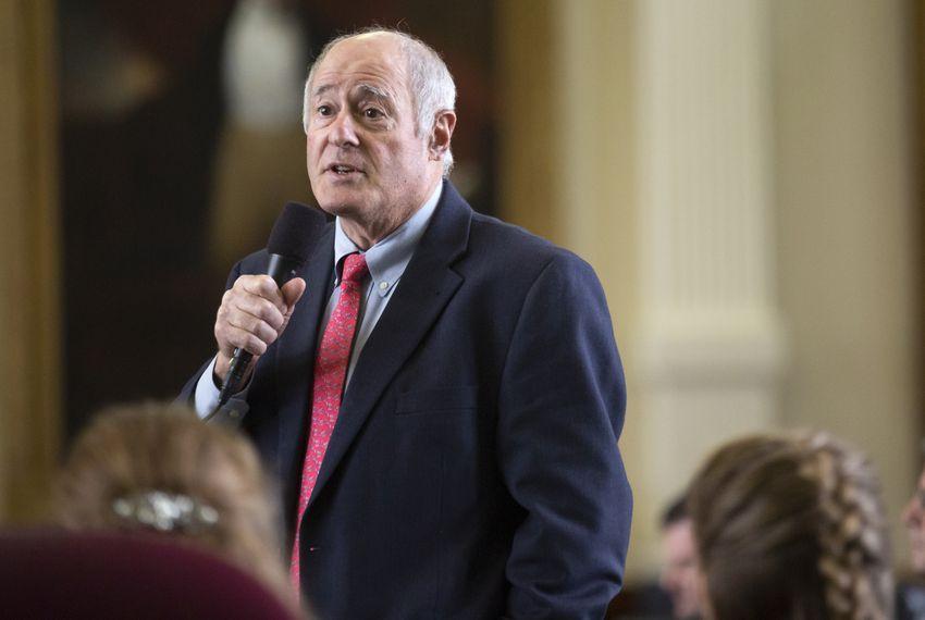 """""""I'm still doing penance for 2017,"""" says state Sen. Kel Seliger, R-Amarillo."""