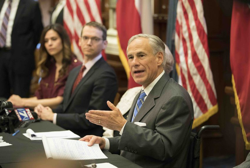 Texas Governor Greg Abbott convenes the second of three panels studying school safety and student mental health issues at the Texas Capitol in the wake of last week's Santa Fe, Texas school shooting that left eight students and two teachers dead.