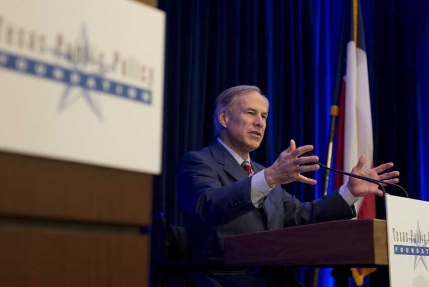 Incoming Gov.Greg Abbott speaks at TPPF's Policy Orientation session on Jan. 8th, 2015