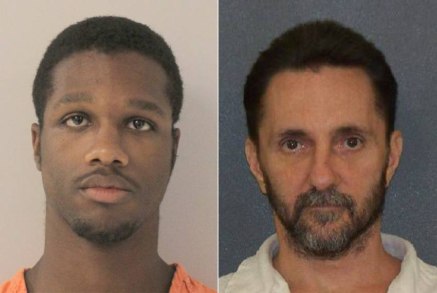 From left: Prison officer D'Andre Glasper, facing charges in death of inmate Gary Ryan.
