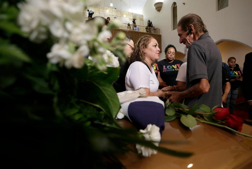 Hundreds Attend El Paso Shooting Victim S Funeral The Texas Tribune