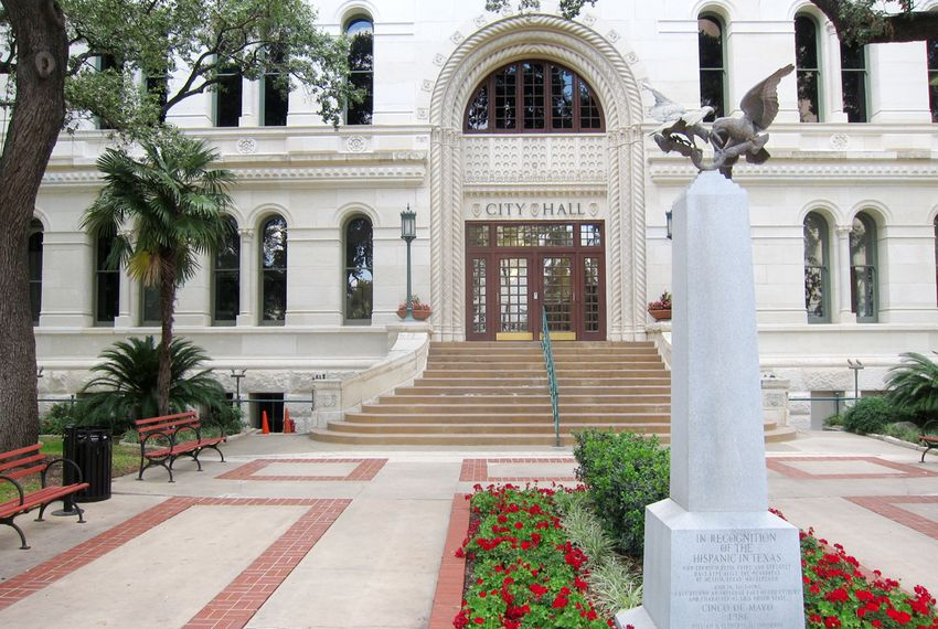 San Antonio City Hall.