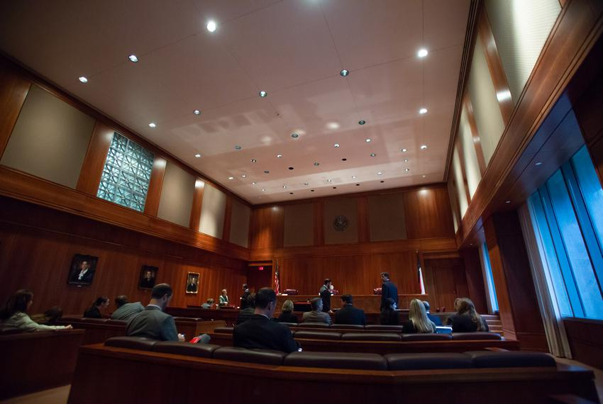 The Texas 3rd Court of Appeals in Austin on Oct. 17, 2018.