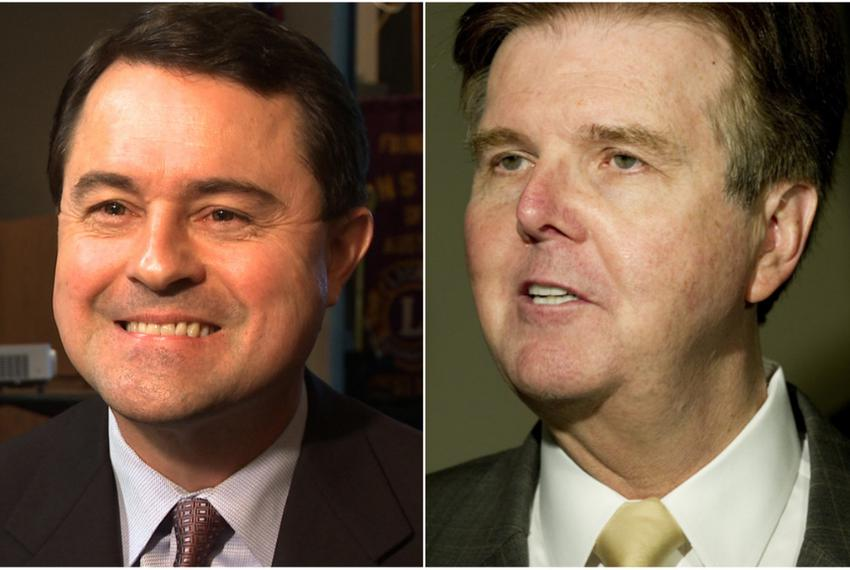 Agriculture Commissioner Todd Staples and Texas state Sen. Dan Patrick, R-Houston, two of the Republican candidates running …