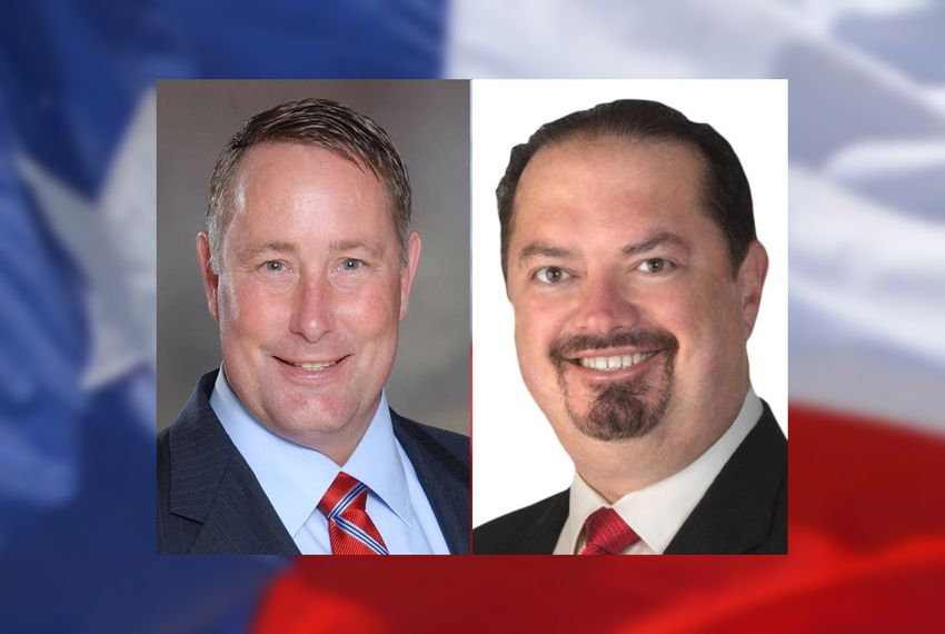 State Reps. Scott Cosper, R-Killeen and René Oliveira, D-Brownsville.