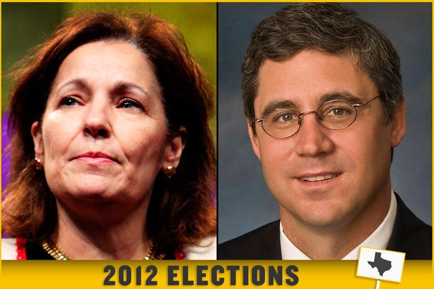 Texas Court of Criminal Appeals presiding Judge Sharon Keller and Democratic challenger, lawyer Keith Hampton