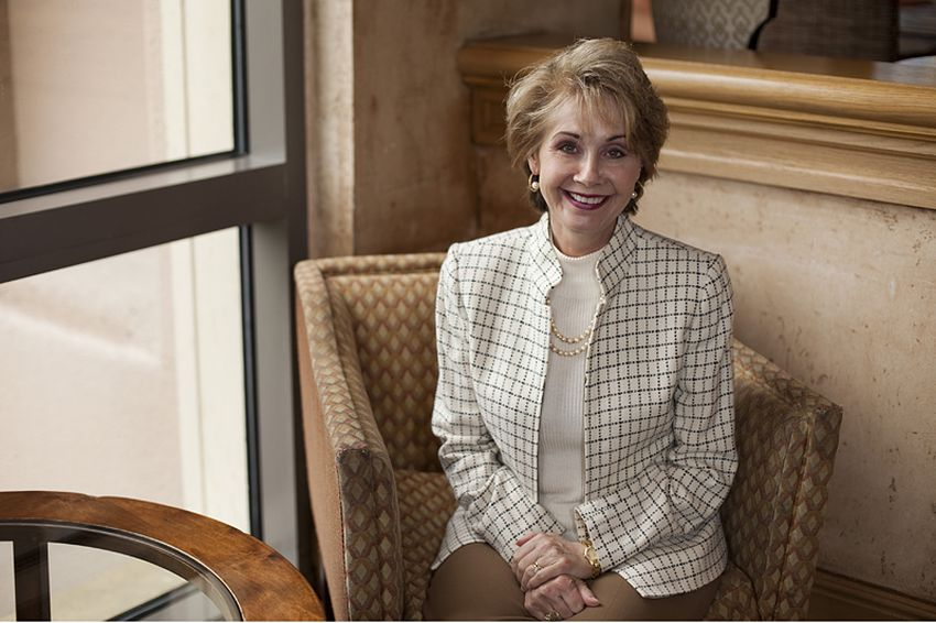 Judge Debra Lehrmann sits for a portrait at the Four Seasons in Austin, Texas on Thursday June 3, 2010.