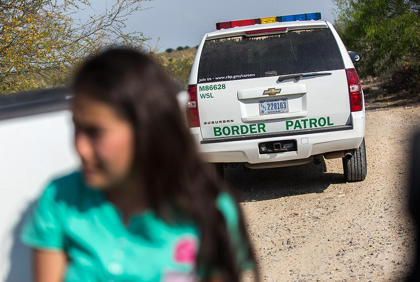 Daniela, a 17-year-old unaccompanied migrant from El Salvador, voluntarily turned herself in to Border Patrol agents near Ro…