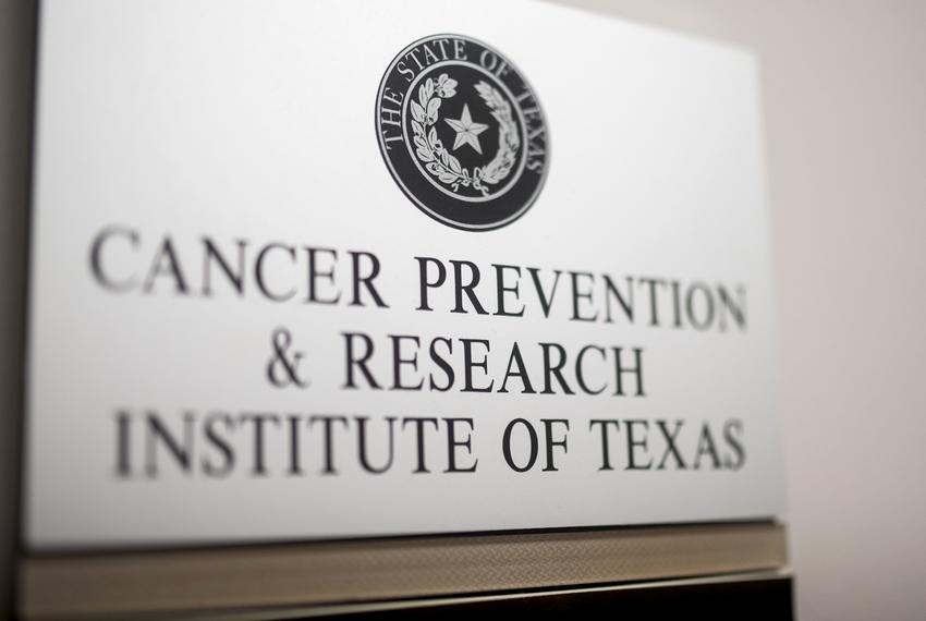 The Cancer Prevention & Research Institute of Texas offices in Austin on Oct. 22, 2019.
