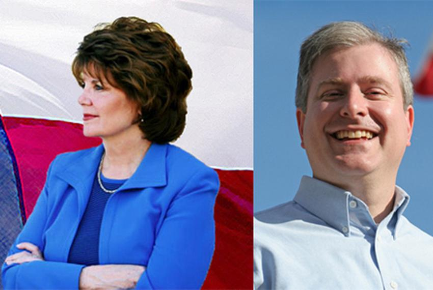 Rep. Carol Kent, D-Dallas, and Rep. Robert Miklos, D-Mesquite