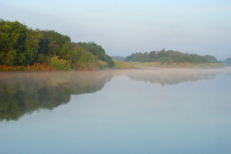 Rio Grande as seen from Chapeno, Starr Co.