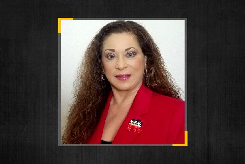 Galveston County Republican Party Chairwoman Yolanda Waters.