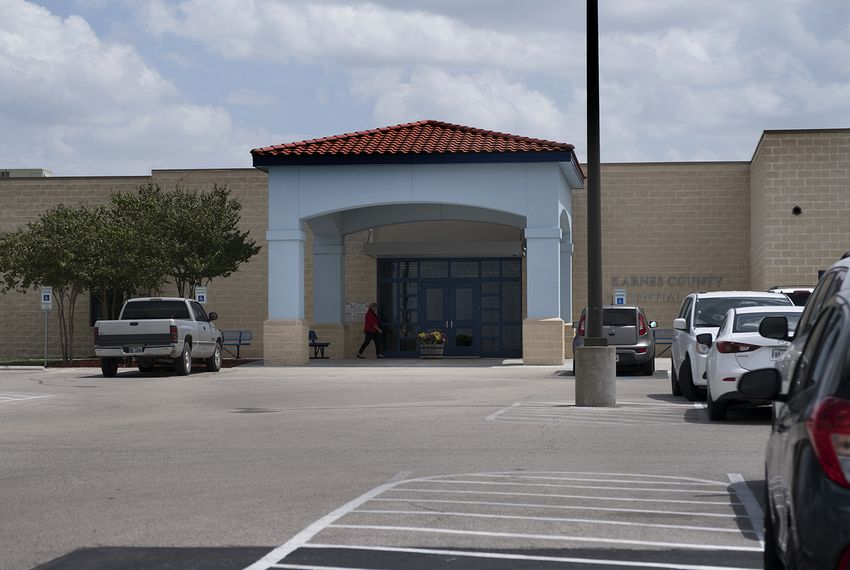 The Karnes County Residential Center is a detention center for immigrant women and their children in Karnes City, southeast of San Antonio. The facility is run by The GEO Group, Inc.