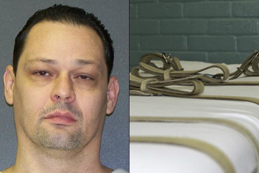 Death row inmate Donald Newbury.