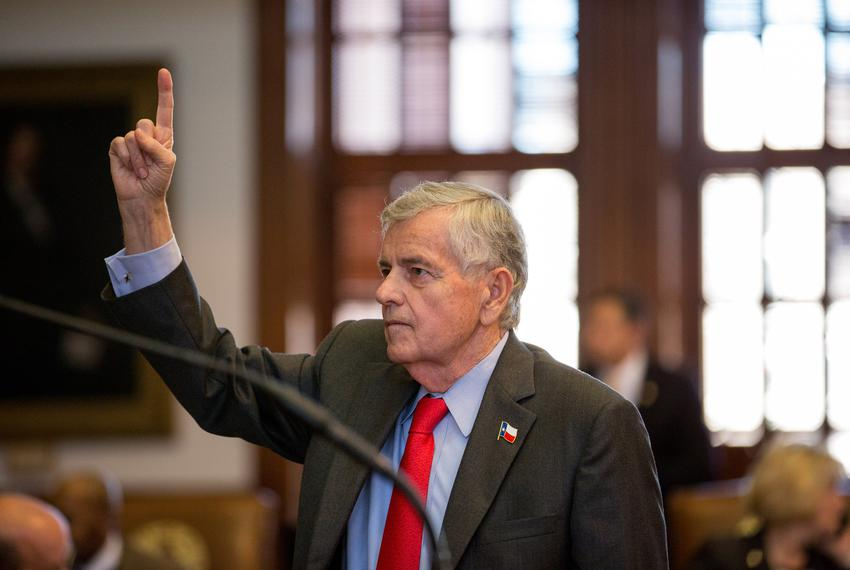 Rep. Tom Craddick, pictured above on the House floor on March 25, 2015, was re-elected to his 50th year in office.
