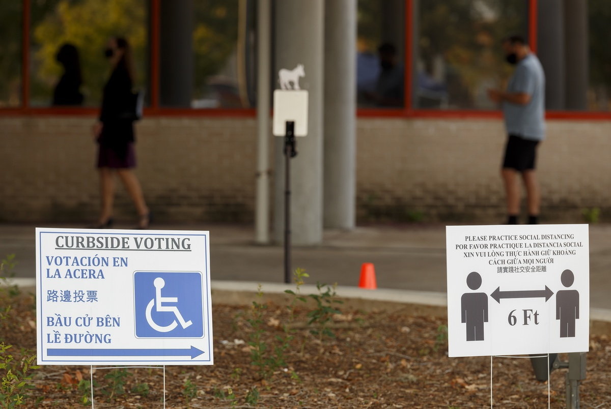Texans with disabilities are eligible for mail-in voting, but people must decide for themselves if they qualify