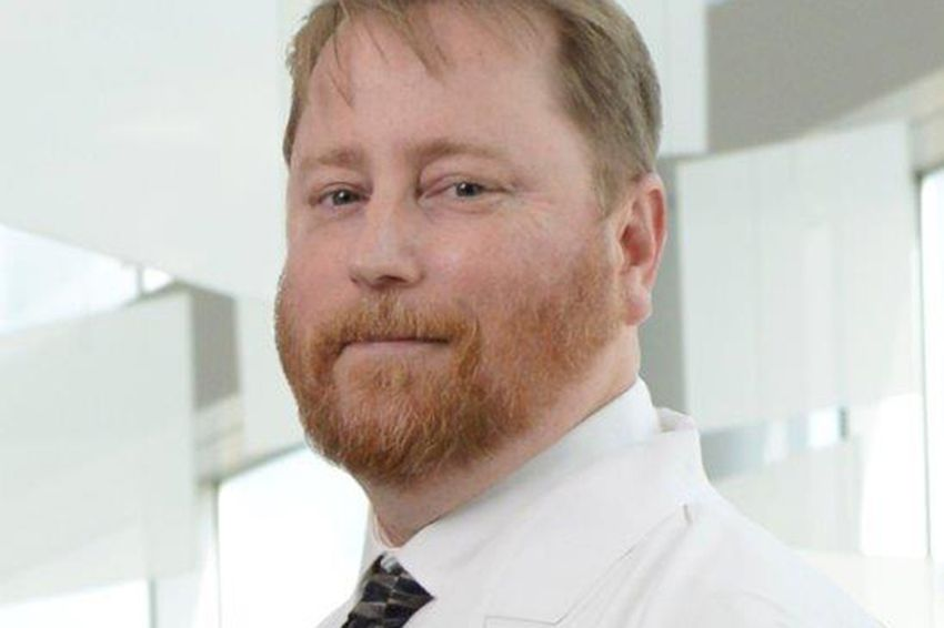 Dr. Jason Fish and his team of four groups recently won the 2016 Healthcare Informatics Innovator of the Year Award.