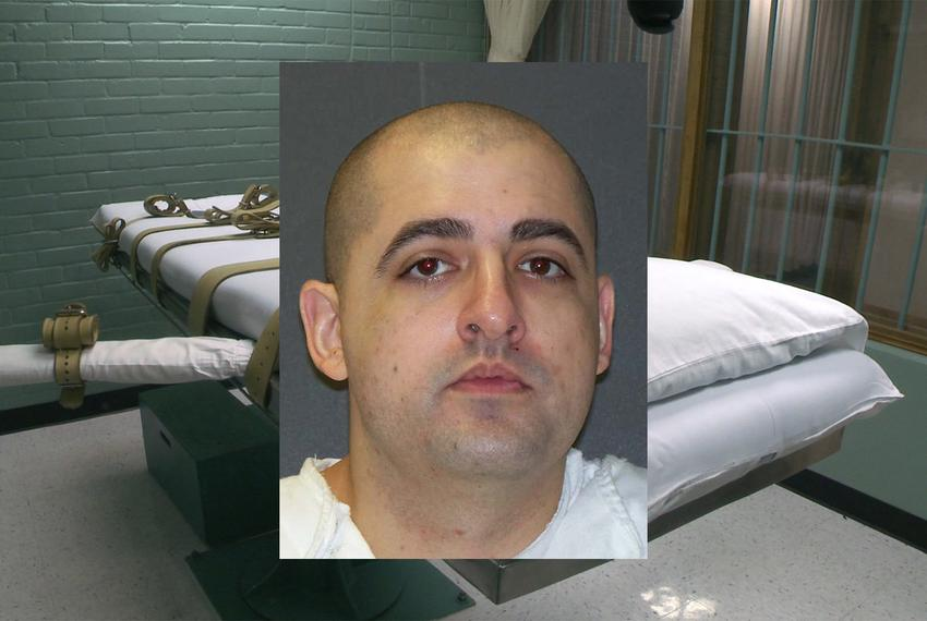 Juan Castillo was sentenced to death in a 2003 robbery and murder in San Antonio.