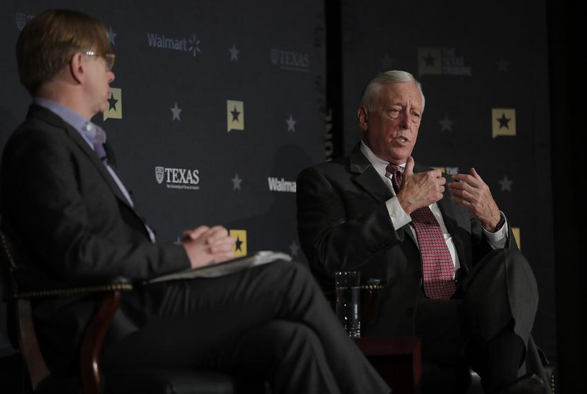 Minority Whip of the U.S. House Steny Hoyer, D-Maryland, discusses President Donald Trump, Congress and the Democrats' road …