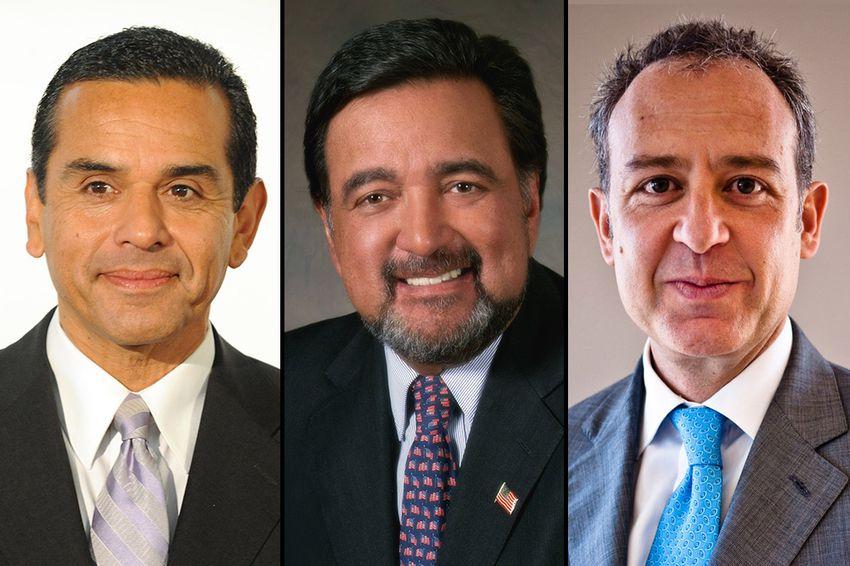 Los Angeles Mayor Antonio Villaraigosa, former New Mexico Gov. Bill Richardson and Mexican Ambassador to the U.S. Arturo Sarukhan