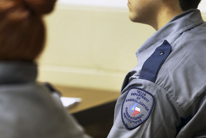Prison guards for the Texas Department of Criminal Justice start with a salary of about $36,000 and receive a maximum of about $43,000 after 7.5 years.