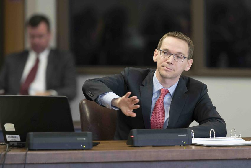 Texas Education Commissioner Mike Morath.