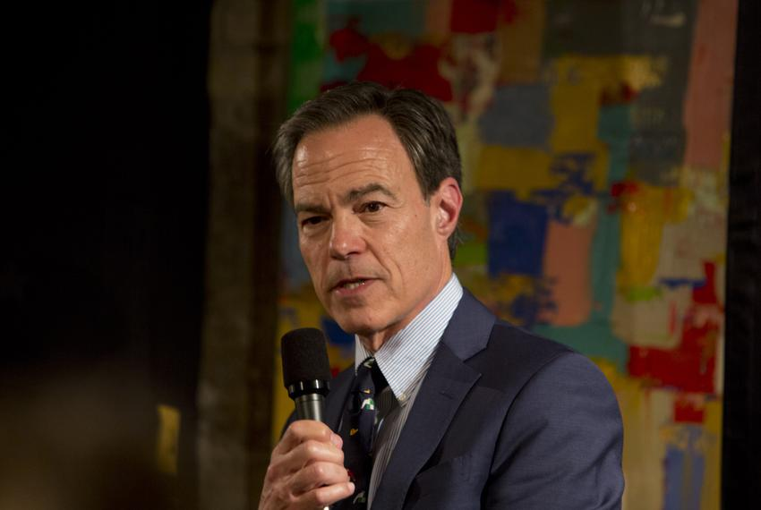 Former state House Speaker Joe Straus at a Texas Tribune event on March 29, 2019.