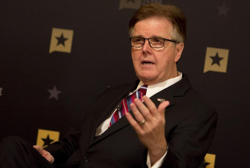 Lt. Gov. Dan Patrick during January 11, 2017 Tribune Conversation