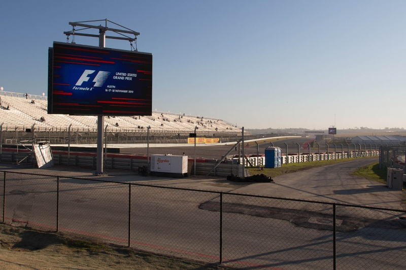 Circuit of the Americas stadium - November 18, 2012.