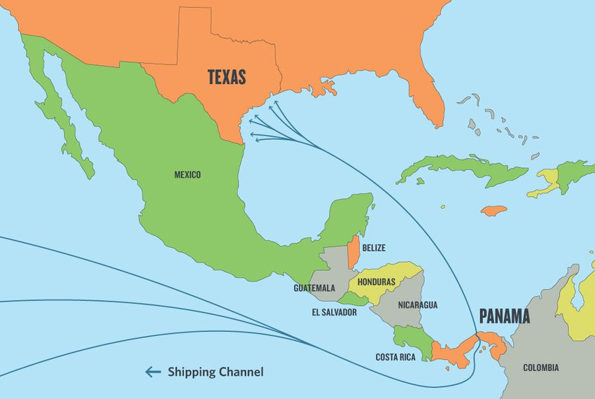 Some Fear Texas Unprepared for Panama Canal Expansion | The Texas ...