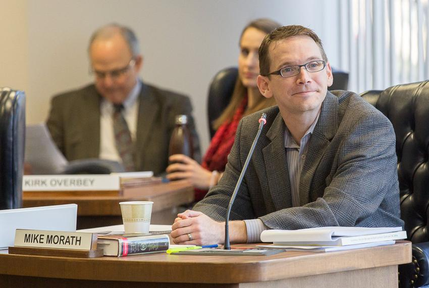 Texas Education Commissioner Mike Morath addressed the State Board of Education for the first time on Jan. 27, 2016.