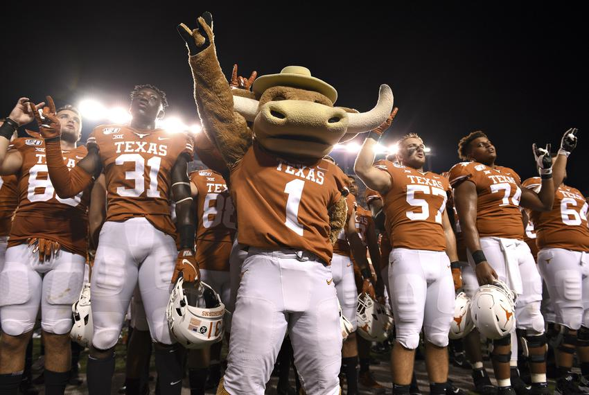 The University of Texas Longhorns at Darrell K Royal Memorial Stadium in Austin on August 31, 2019.