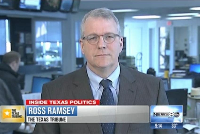 "Ross Ramsey on WFAA TV's ""Inside Texas Politics,"" Feb. 2, 2014."