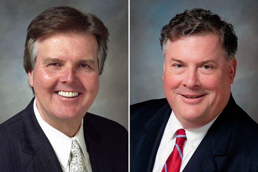 State Senators Dan Patrick, R-Houston, and Tommy Williams, R-The Woodlands.