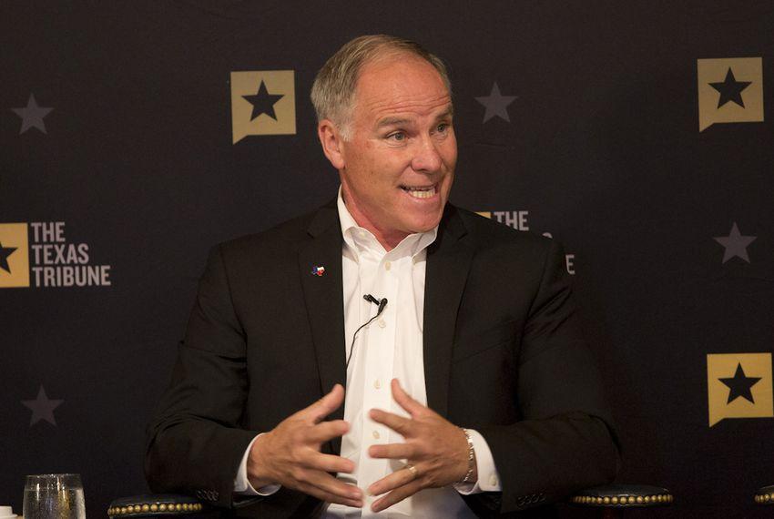 State Rep. Kyle Biedermann, R-Fredericksburg, at a Texas Tribune event on Sept. 15, 2016.