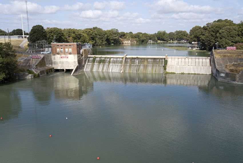 "The river authority says its priority is ""ensuring the safety of those on and around"" Lake McQueeny and three other lakes with 90-year-old dams."