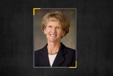 Former Postmaster General Carolyn Lewis Gallagher.
