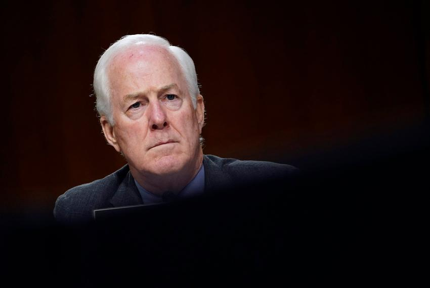 U.S. Sen. John Cornyn, R-Texas, during a Senate Judiciary Committee hearing on Capitol Hill in Washington, D.C., in November…