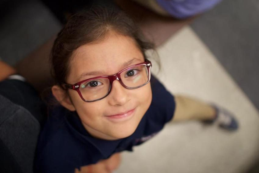 """Nine-year-old Nancy Herrera said she wants to be president of the United States when she grows up. """"I would make the United …"""